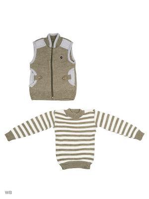 Комплекты одежды для малышей Babycollection. Цвет: зеленый, серый