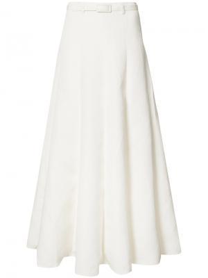 Плиссированная юбка-макси Co. Цвет: белый