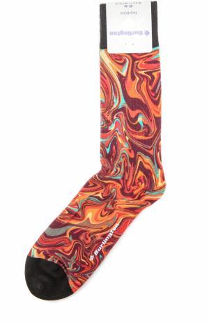 Хлопковые носки Fashion Burlington. Цвет: оранжевый