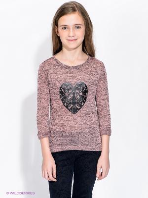 Джемпер Ada Gatti. Цвет: розовый, черный, коричневый