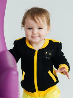 Куртка детская Ягуар Yuumi. Цвет: черный