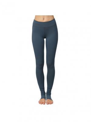 Леггинсы Cotton  Gray Urban Yoga. Цвет: серый