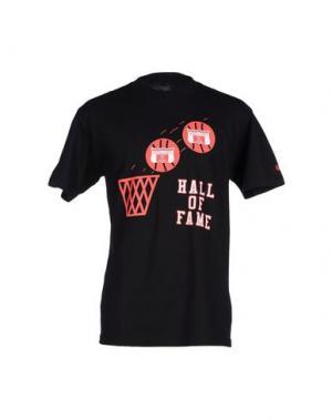 Футболка HALL OF FAME. Цвет: черный