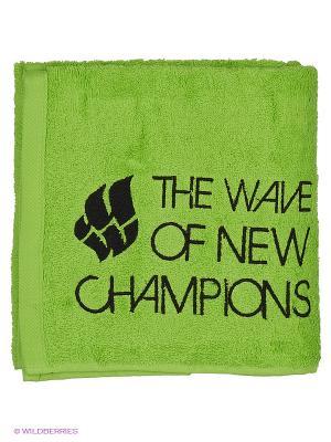 Полотенце WAVE Mad. Цвет: зеленый
