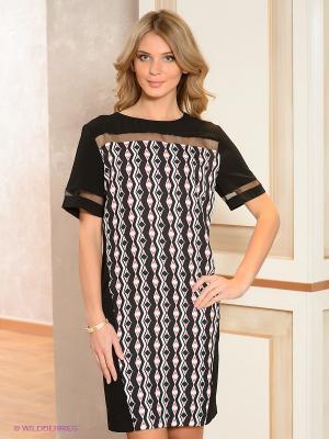 Платье ZENDRA. Цвет: черный