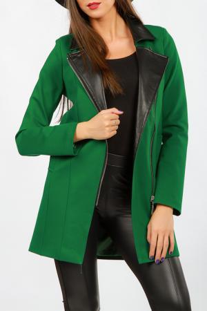 Пальто Angel. Цвет: green