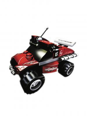 Конструктор MotoBlock Машинка гоночная 4 Склад Уникальных Товаров. Цвет: красный