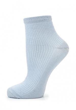 Носки Topshop. Цвет: голубой