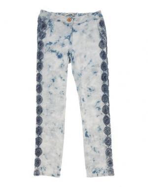 Повседневные брюки SCOTCH R'BELLE. Цвет: лазурный