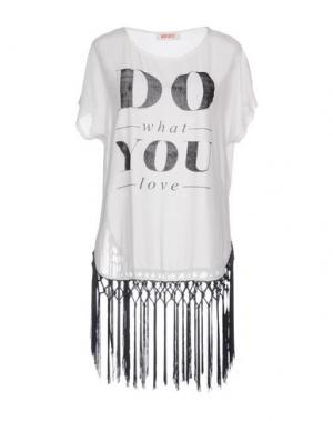 Блузка KONTATTO. Цвет: белый