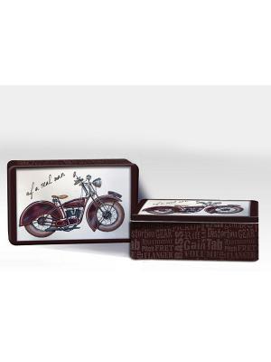 Набор подарочный Мотоцикл Magic Home. Цвет: коричневый
