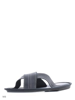 Тапочки-пантолеты PANTOLETTI. Цвет: черный