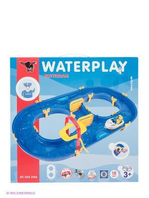 Игровой набор Водный трек Rotterdam Big Waterplay. Цвет: синий, желтый