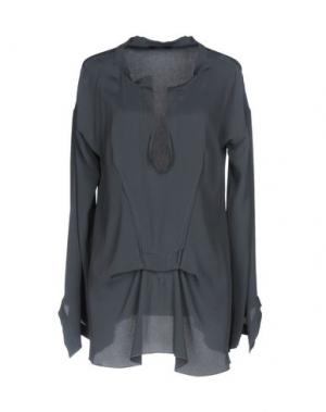 Блузка CARLA G.. Цвет: свинцово-серый
