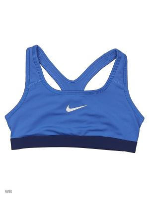 Топ G NP BRA CLASSIC Nike. Цвет: синий