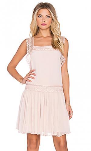 Платье depth The Allflower Creative. Цвет: розовый