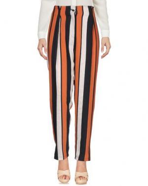 Повседневные брюки SISTE' S. Цвет: ржаво-коричневый