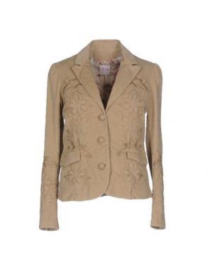 Пиджак NOLITA. Цвет: песочный