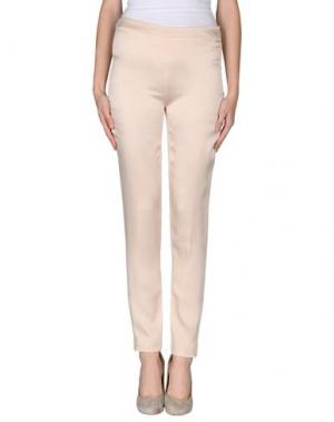 Повседневные брюки GATTINONI. Цвет: светло-розовый