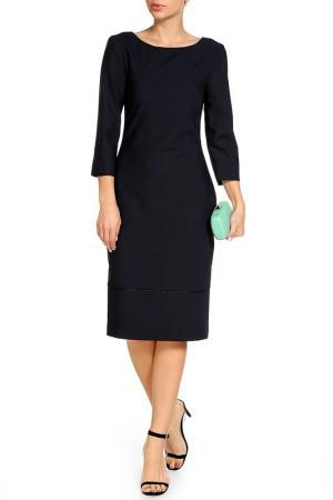 Платье BGN. Цвет: navy