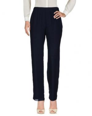 Повседневные брюки MUSANI COUTURE. Цвет: темно-синий