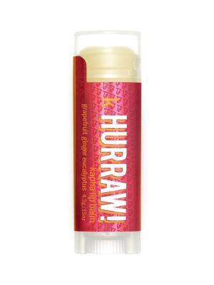 Бальзам для губ Hurraw! Kapha Lip Balm. Цвет: красный
