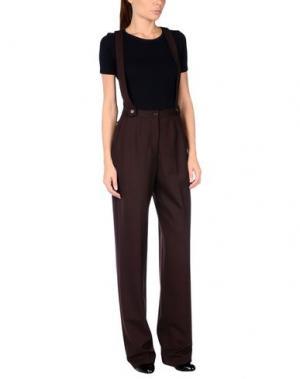 Повседневные брюки AALTO. Цвет: баклажанный