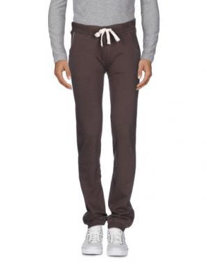 Повседневные брюки VIRTUS PALESTRE. Цвет: какао