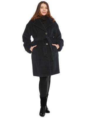 Пальто Fashion, S.A.. Цвет: темно-зеленый