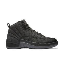 Мужские кроссовки Air Jordan 12 Retro Wool Nike. Цвет: серый