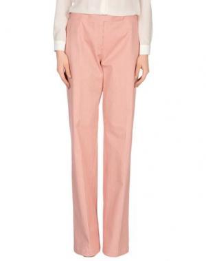 Повседневные брюки JUST IN CASE. Цвет: пастельно-розовый