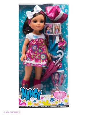 Кукла Нэнси Как ты Famosa. Цвет: розовый, белый, голубой, бежевый