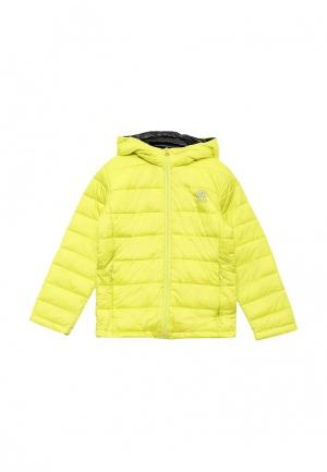 Куртка утепленная E-Bound. Цвет: желтый