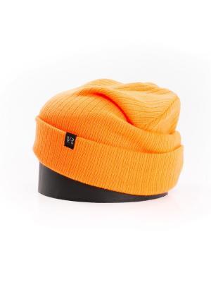 Шапка Vittorio Richi. Цвет: оранжевый