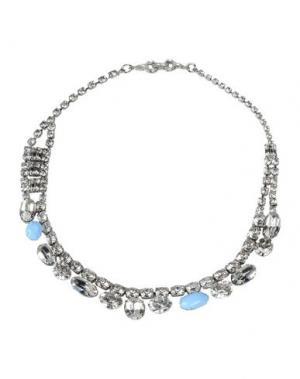 Ожерелье TOM BINNS. Цвет: лазурный
