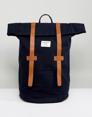 Sandqvist Темно-синий рюкзак Stig. Цвет: темно-синий