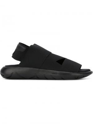 Спортивные сандалии Y-3. Цвет: чёрный