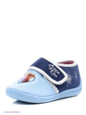 Туфли Frozen. Цвет: синий