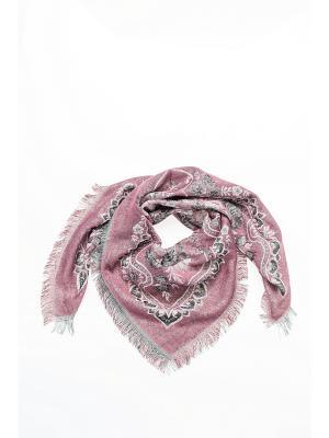 Платок Shapkoff. Цвет: розовый, серебристый