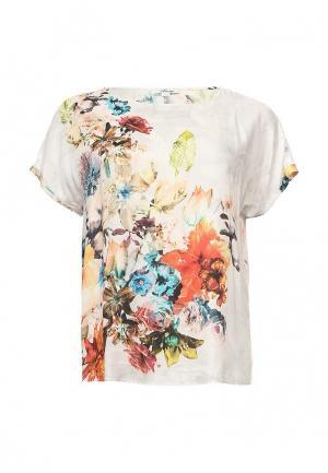 Блуза Silver String. Цвет: белый