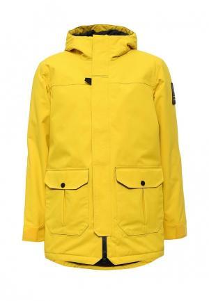 Куртка утепленная Helly Hansen. Цвет: желтый