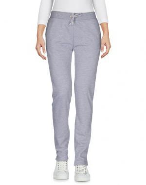 Повседневные брюки BEA. Цвет: серый