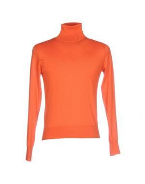 Водолазки KANGRA CASHMERE. Цвет: оранжевый