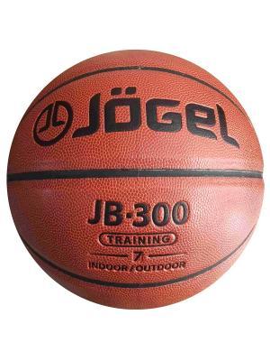 Мяч баскетбольный Jogel JB-300 №7. Цвет: коричневый