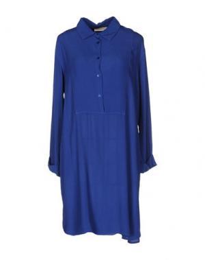 Короткое платье VICOLO. Цвет: синий