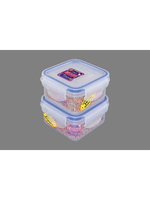 Набор 2-х герметичных контейнеров 200 мл XEONIC CO LTD. Цвет: прозрачный, синий