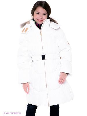 Пальто HUPPA. Цвет: белый