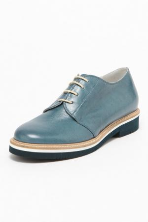 Ботинки GIORGIO MALLARDI. Цвет: синий