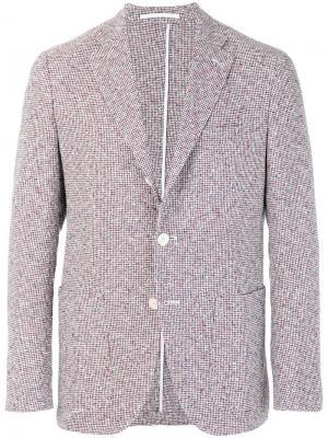 Пиджак с накладными карманами Cantarelli. Цвет: красный