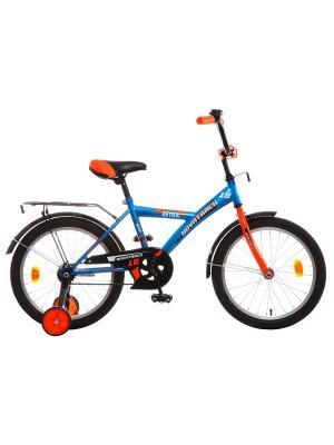 Велосипед 18 ASTRA NOVATRACK. Цвет: синий